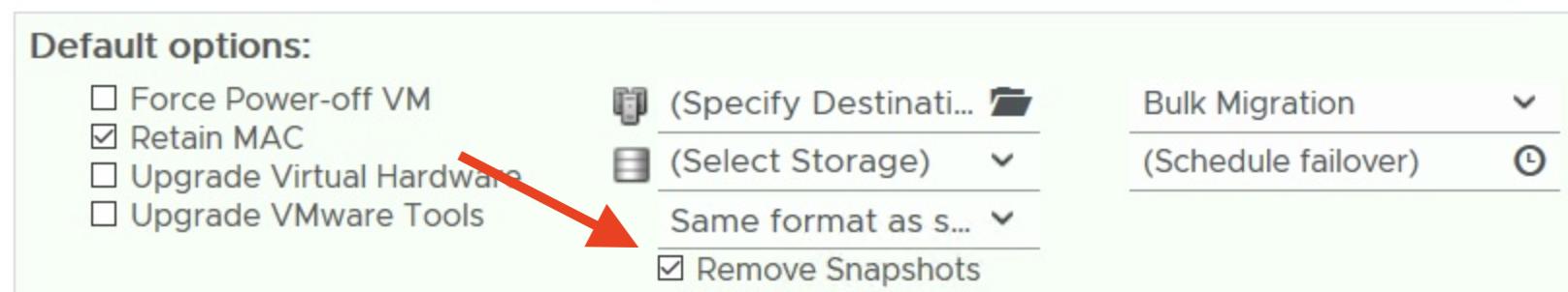 HCX and Virtual Machine Snapshots – HCX ⦿ DESIGN